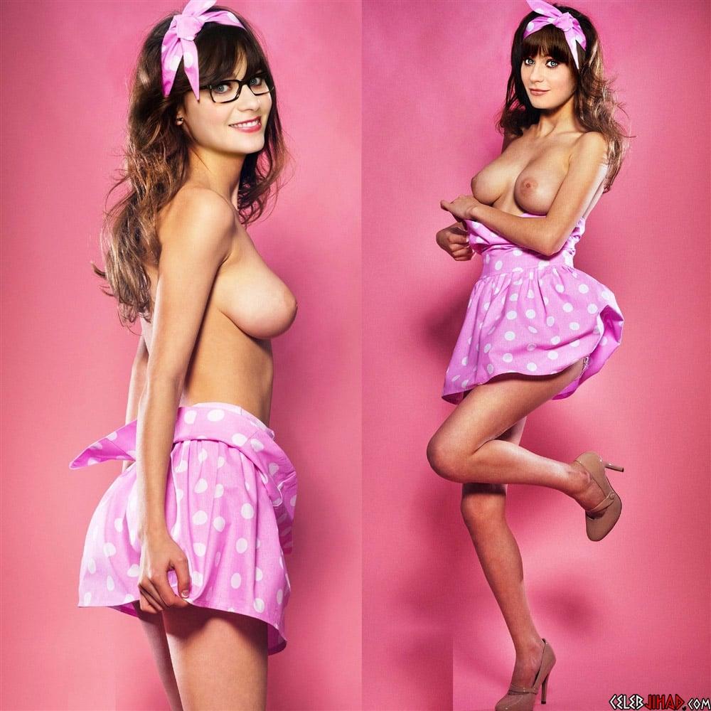 Has Zooey Deschanel Been Nude photo 23