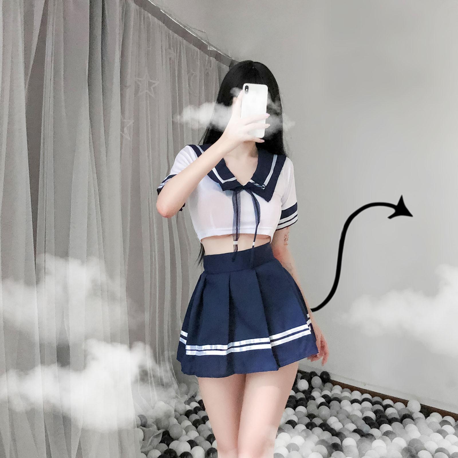 Hot Japanese School Girl photo 9