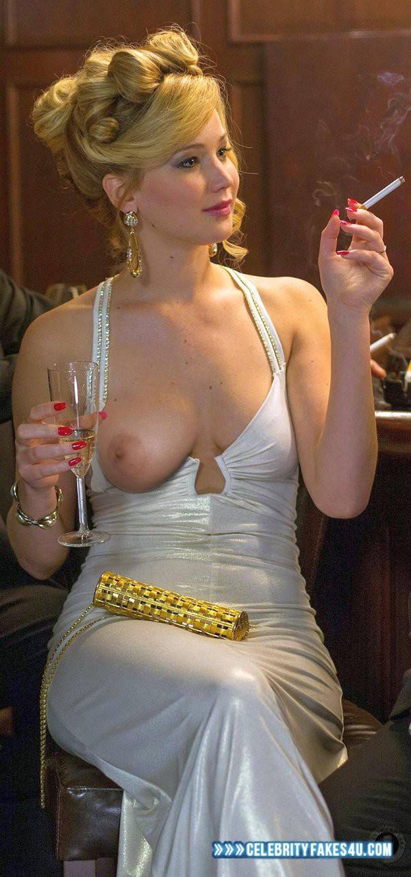Jennifer Lawrence Bare Breasts photo 10