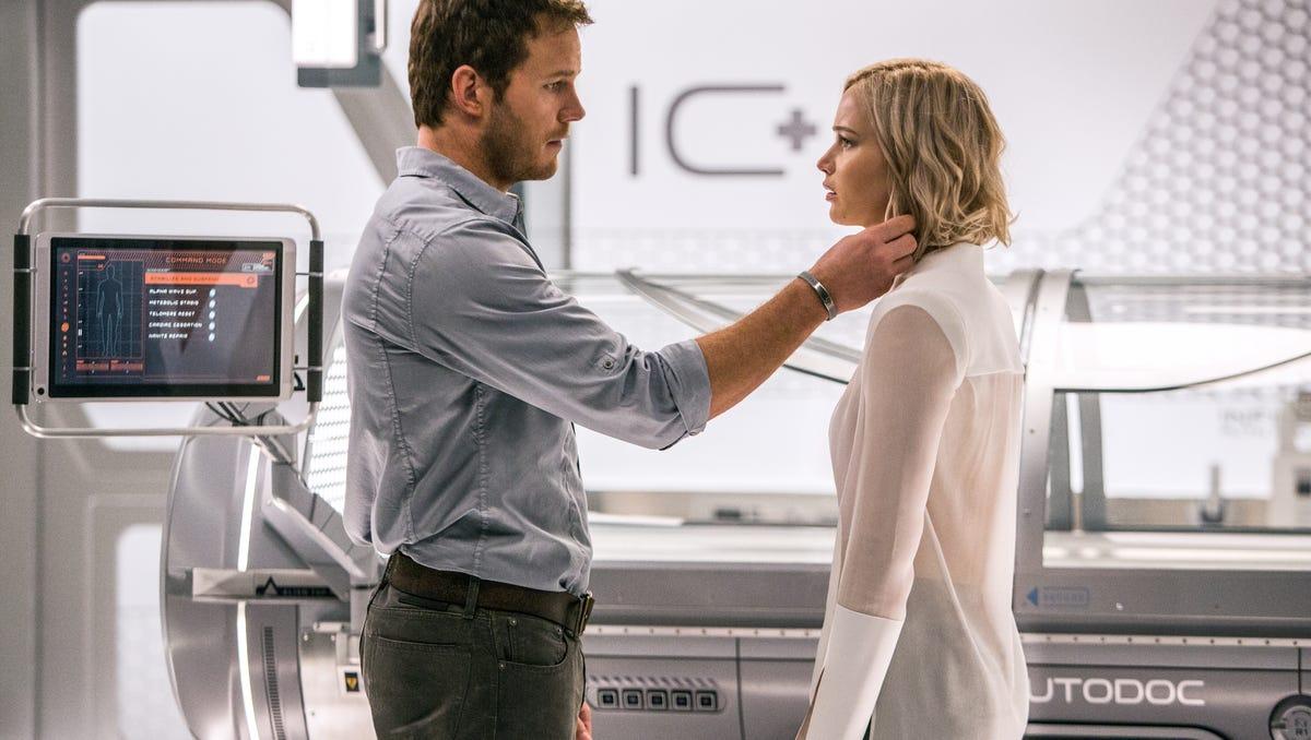 Jennifer Lawrence Passengers Sex photo 6