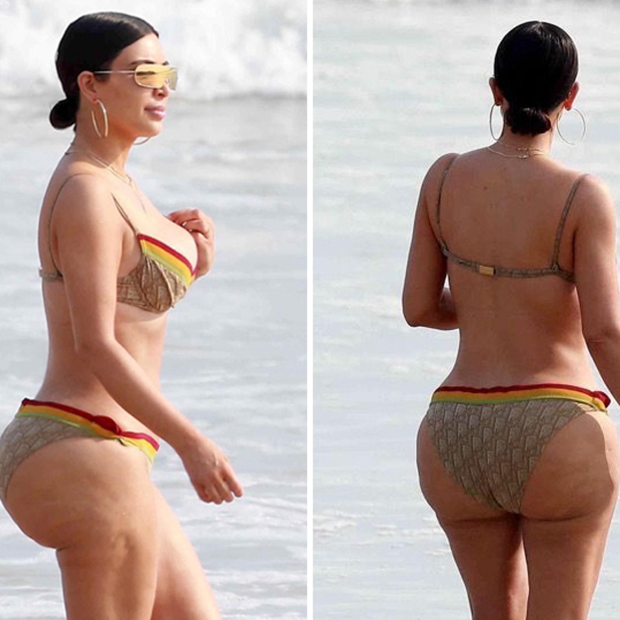 Kim Kardashian Swimsuit 2017 photo 23