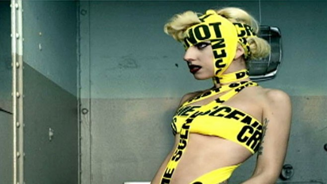 Lady Gaga Sexy Video photo 28