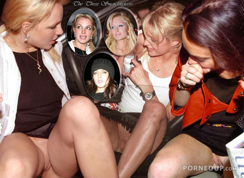 Lindsay Lohan Upskirt photo 9
