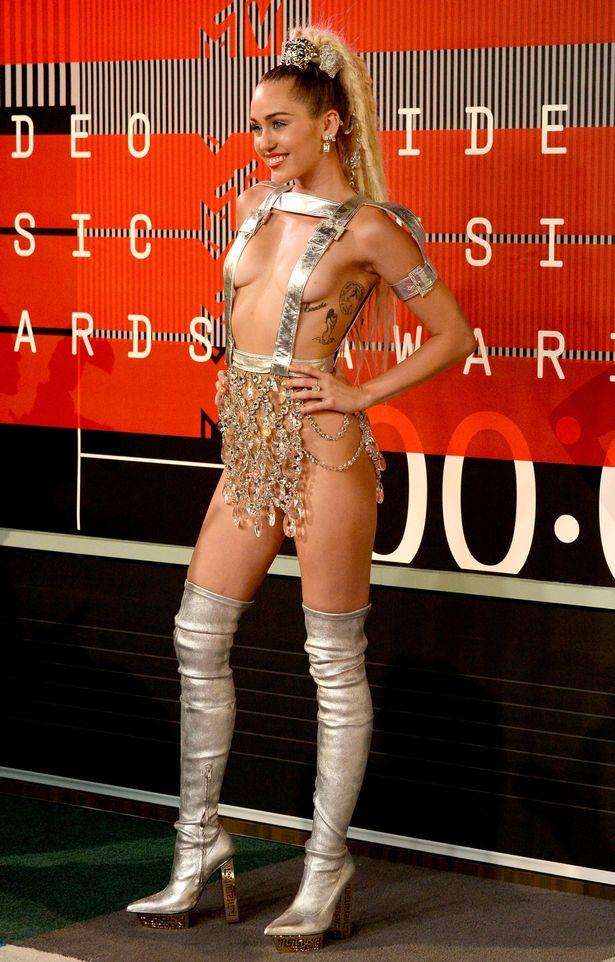 Miley Cyrus Nip Slip Video photo 19