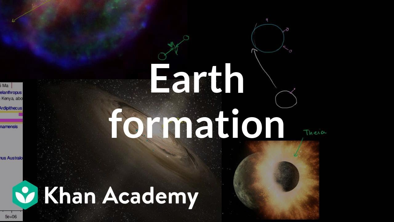 Moon Formation Video photo 4