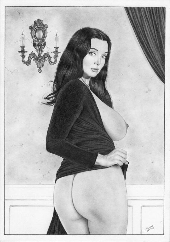 Morticia Addams Naked photo 27