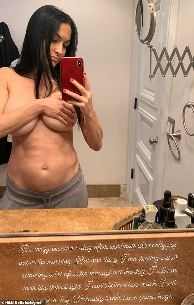 Nikki Bella Nude Boobs photo 22