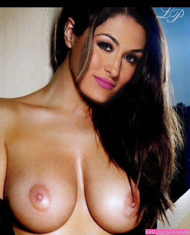 Nikki Bella Nude Boobs photo 10