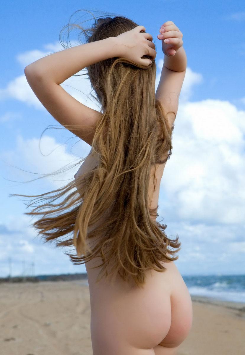 Nude Ass Long Hair photo 30