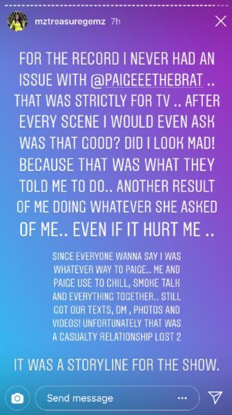 Paige Blac Chyna Friend Instagram photo 2