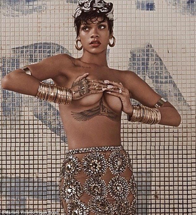 Rihanna Gets Cheeky In Brazil photo 14