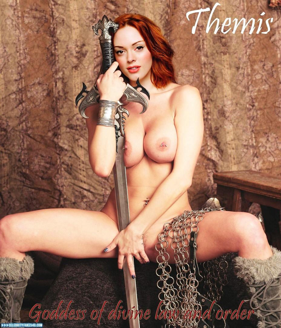 Rose Mcgowan Nipples photo 21
