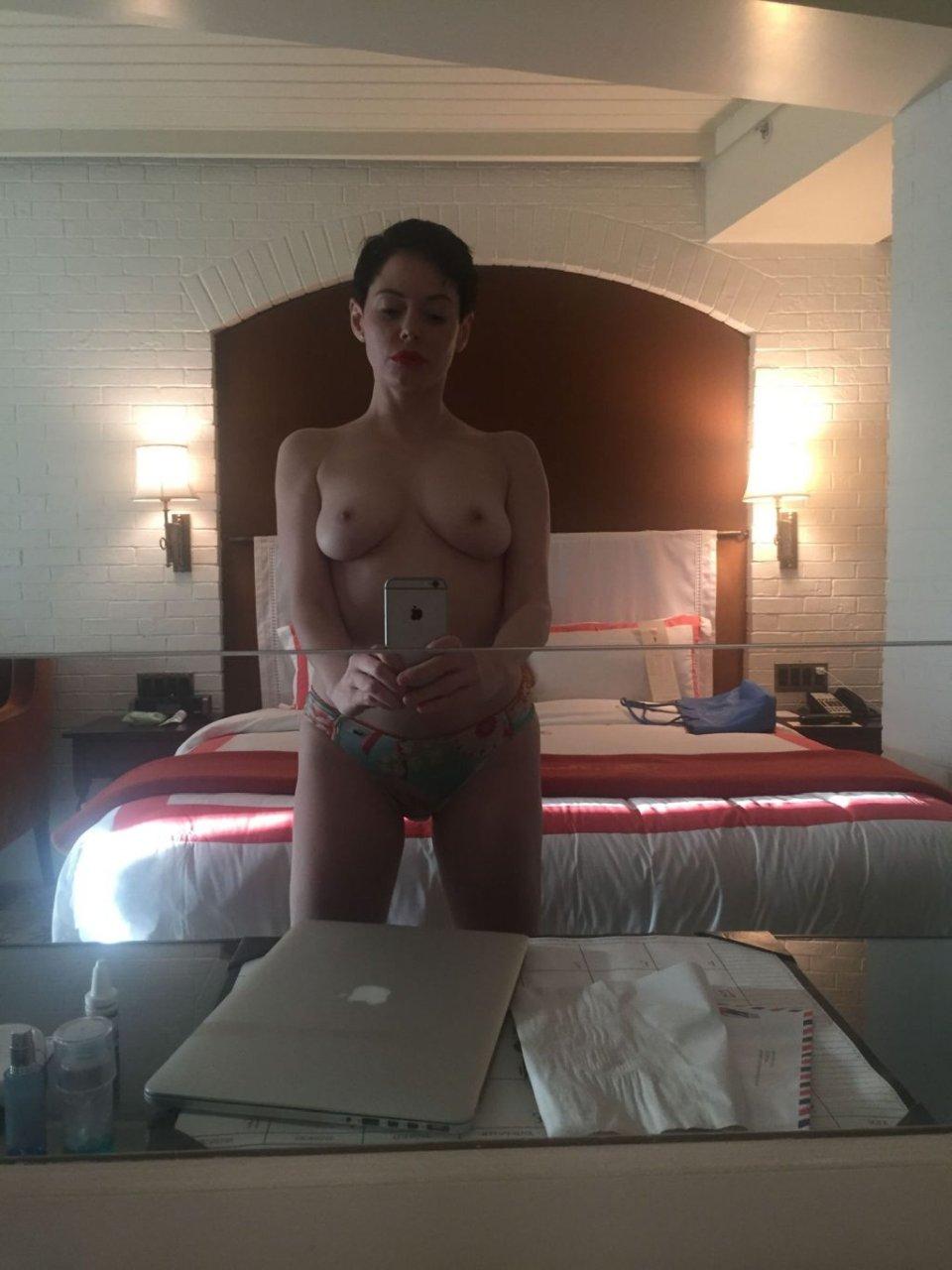 Rose Mcgowen Topless photo 11