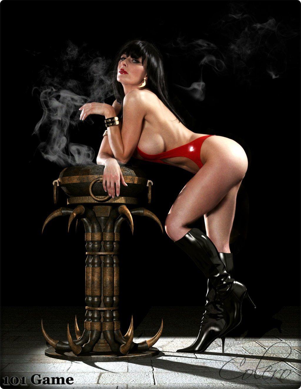 Sexy Vampirella Cosplay photo 11