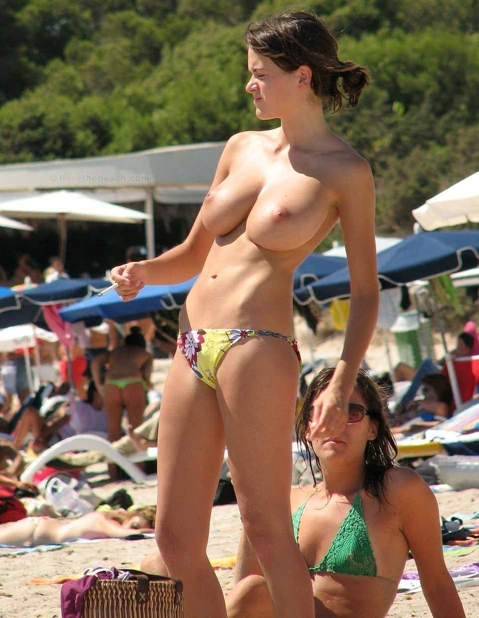 Tits On Beach photo 12